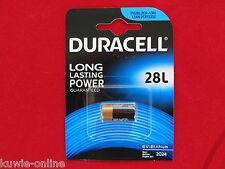 2 x Duracell Photo 28L, PX28L, L544, 2CR1/3N, V28PXL, PXL28L, Lithium Batterie
