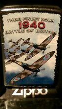 Zippo lighter Battle of Britain 1940 their finest hour 100% Authentic