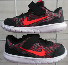 Baby's Nike Flex Experience 4 Print Sneakers, New Blk Toddler Walking shoes 7c