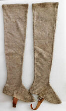 Wolsey woollen gaiters long spats vintage 1920s 1930s outdoor wet weather gear