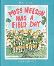 Miss Nelson Has a Field Day-ExLibrary