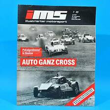 DDR Illustrierter Motorsport IMS 7/1989 Wittenberg Auto-Cross Seelow Trabant G