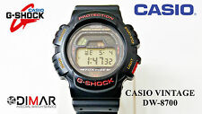 VINTAGE CASIO DW-8700 G-SHOCK FOX FIRE MODULO 1543 JAPAN