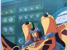 TRANSFORMERS ANIMATION PRODUCTION CEL