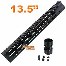 "CNC 13.5"" KeyMod Rail Handguard for Marui G&P CA M SR Series APS ASR Airsoft AEG"