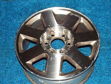 "Ford F150 Lariat King Ranch 18"" Factory Alloy Wheel 7 Spoke Machined 05 06 07 08"