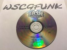Big Gank  Tell Me Why / A Long Time Ago ULTRA RARE PROMO SINGLE CLEVELAND G-FUNK