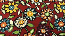 "RICHLOOM WIZARD GRAFFITI MULTI COLOR FLORAL DRAPERY FABRIC BY THE YARD 54""W"