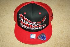 "CINCINNATI BEARCATS TOP OF THE WORLD ""QUAGMIRE"" MESH BACK SNAPBACK HAT (NWT)"
