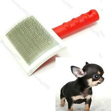 1PC Shedding Grooming Hair Brush Comb For Cat Dog Large New