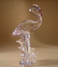 SWAROVSKI CRYSTAL FLAMINGO 289733 MINT BOXED RETIRED RARE