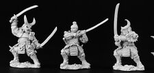 Samurai Warriors Reaper Miniatures Dark Heaven Legends D&D RPG Dungeon Wargames