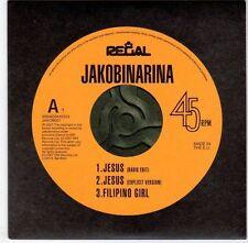 (EM446) Jakobinarina, Jesus / Filipino Girl - 2007 DJ CD
