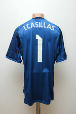 REAL MADRID SPAIN 2014/2015 GOALKEEPER FOOTBALL SHIRT CAMISETA ADIDAS CASILLAS 1