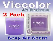 """2 Pack Diax Viccolor """"SEXY AIR"""" Air Freshener JDM Car Home Office ,Made In JAPAN"""