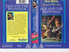 JACK AND THE BEANSTALK GENE KELLY VHS PAL VIDEO A RARE FIND