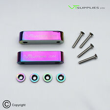Neo Chrome Hood Riser Set Bonnet Spacer Kit for Civic EG/EK Integra DC2
