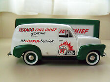 SPEC CAST TEXACO FUEL CHIEF HEATING OIL - 1952 CHEVROLET PANEL DELIVERY DIECAST