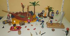 Playmobil Set PLAYMOBIL 4136 - Super Set Seeräuberinsel Riff Wrack Schiffswrack