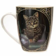 Lisa Parker Fortune Telling Cat Bone China Mug Fantasy Gothic Cup