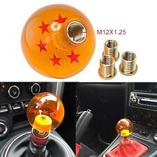 M8/M10/12 Rare Gear Shift Knob DragonBall Dragon Z Ball 54MM ID 7 Star For Honda