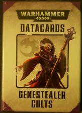 Warhammer 40k Genestealer Cults Datacards NEW Games Workshop GW 40000