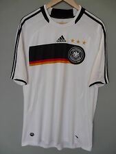 Vintage Germany Adidas 2008 Home Football Shirt Trikot Jersey Sz XL