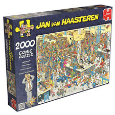 JUMBO 17466 JAN VAN HAASTEREN - ALL QUEUED UP 1000PCS / JIGSAW / BRAND NEW