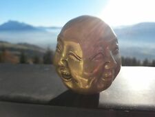 Tête de Boudha aux 4 visages- Provenance de Mongolie-Mongolia.  Boudhisme.
