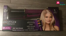 InStyler Rotating Ionic Ceramic 32mm Barrel Straightens Curls Shine Volume