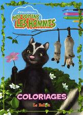 NOS VOISINS LES HOMMES - Coloriages - E