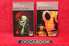 Fredric Brown - Lot de 2 poche - Livre - Occasion