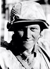 WWII Photo German Soldier Portrait  Wehrmacht  WW2 B&W World War Two / 2386