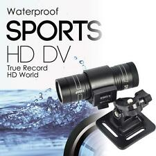 Full HD 1080P DV Waterproof Sport Camera Bike Helmet Action DVR Car Video Cam WT