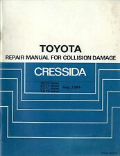 1984 TOYOTA CRESSIDA MX73 GX71 LX 7 RX7 UNFALL REPARATUR ANHANG COLLISION DAMAGE