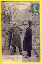 cpa de 1914 SUPERBE Librairie H. ERMICE à VIRE Patois NORMAND Marchand de POMMES