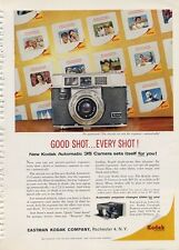 1960 Kodak Automatic 35 Camera PRINT AD