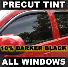 Precut Window Tint for Ford F-250, F-350 Extended Cab 90-98 - 10% Darker Black
