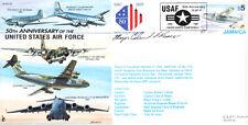 CC35b USAF Lockheed C-130 Hercules / C-5 Galaxy RAF cover signed MAJOR Ed FUSCO