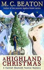 A Highland Christmas by M. C. Beaton (Paperback, 2010) New Book