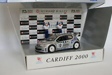 SKID 1/43 - Peugeot 206 WRC Rallye Podium Ccardiff 2000 World Champion