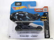 Hotwheels THE DARK KNIGHT BATMOBILE 3/5 BATMAN 2016 made in Malaysia