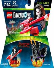 Lego Dimensions Adventure Time Marceline Vampire Fun Pack 60 Pcs New Ships Fast