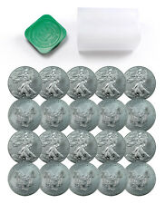Roll of 20 - 2016 1 Troy Oz .999 Fine American Silver Eagle Coins SKU38287