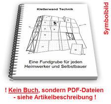 Kletterwand selbst bauen - Kletter Wand Technik Patente Patentschriften