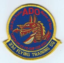 "33rd FLYING TRAINING SQUADRON ""ADO"" patch"