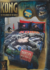 King Kong - The 8th Wonder of the World - Double Bed Quilt Cover Set - Gift Idea