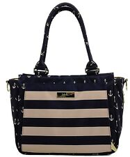 Ju Ju Be Legacy Be Classy Baby Diaper Bag Handbag The Commodore NEW