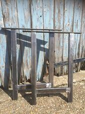 Metal Legs / Industrial Chic / Rustic / table Legs / Industrial Metal Table Leg