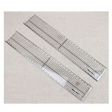 Quilting Sewing Patchwork Foot Aligned Ruler Grid Cutting Edge Tailor Craft #JK